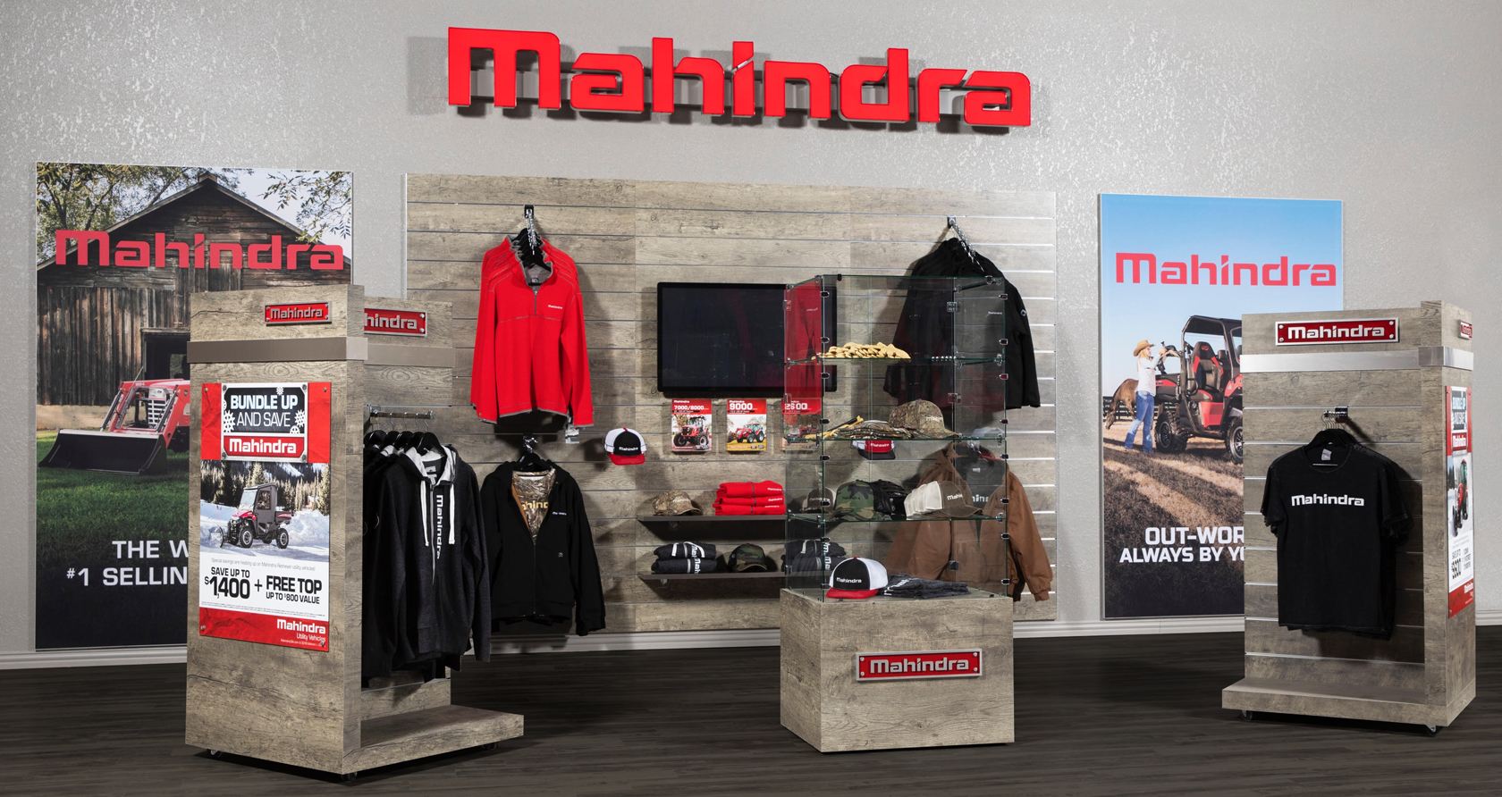 Mahindra Wall
